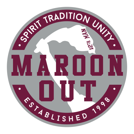 Maroon Out Logo